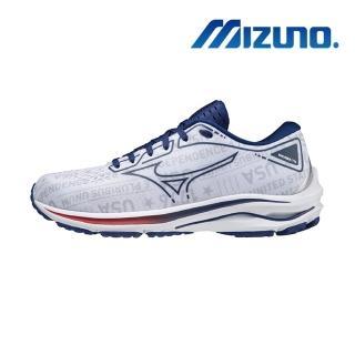 【MIZUNO 美津濃】WAVE RIDER 25 INDEPENDENCE 男慢跑鞋(J1GC215219)