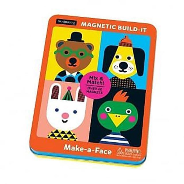 【Top Bright】二合一畫板書桌&Mudpuppy 磁性配搭組(讓孩子大顯身手玩創意的磁鐵組合)